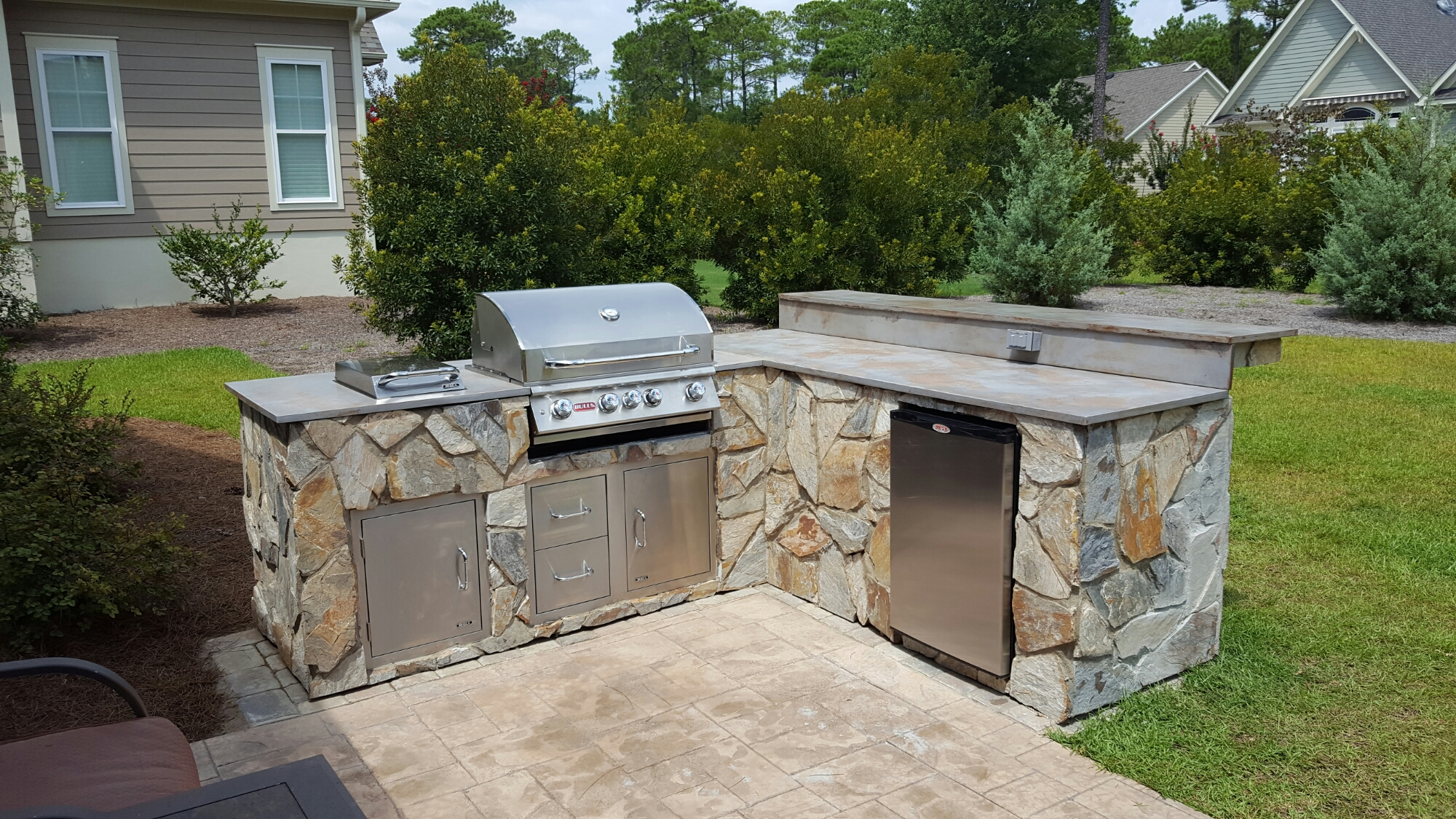 Outdoor Kitchen- St James Plantation, Southport, NC ...